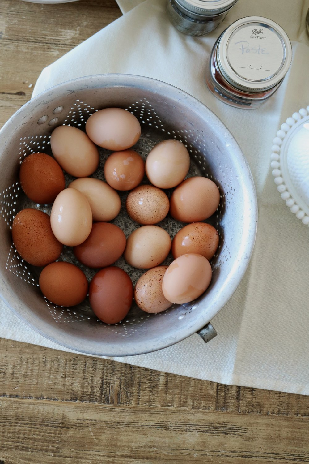 Incredibly Easy Egg Salad - Under A Tin Roof Blog