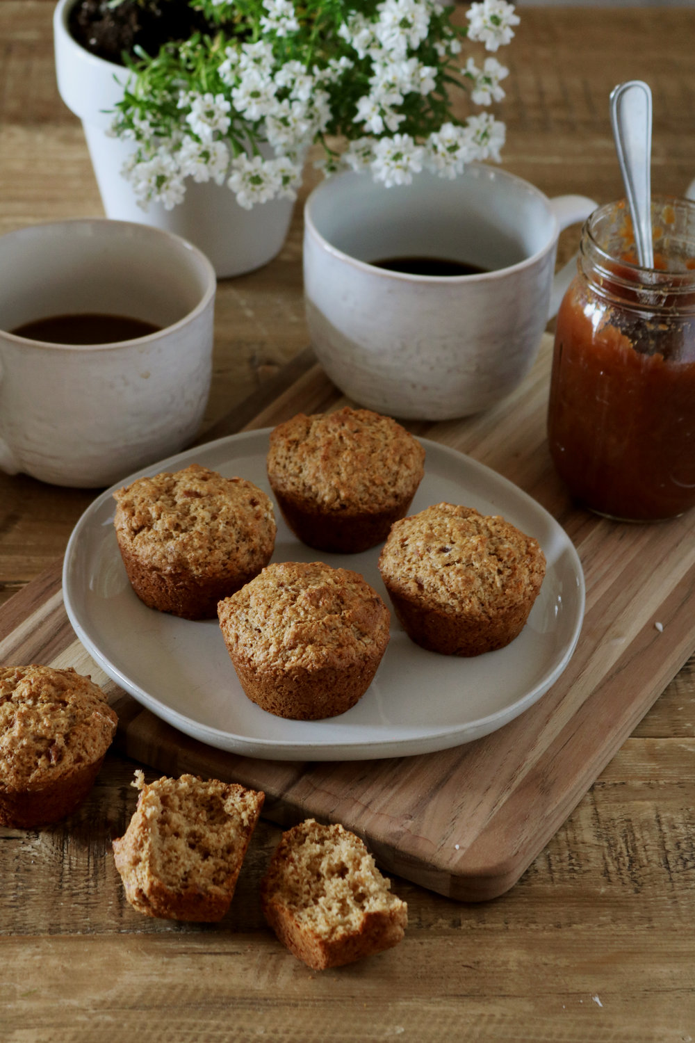 Apple Butter Muffins - Under A Tin Roof Blog