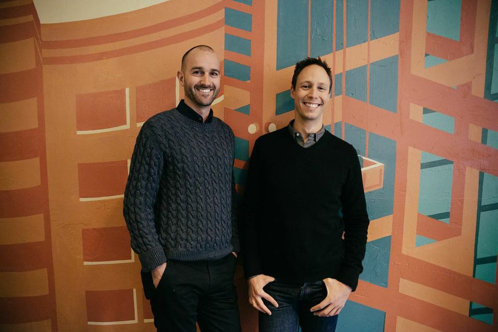 Founders, Justin Brown (left) and Mark Bakacs (right). Photo by Lauren Kallen