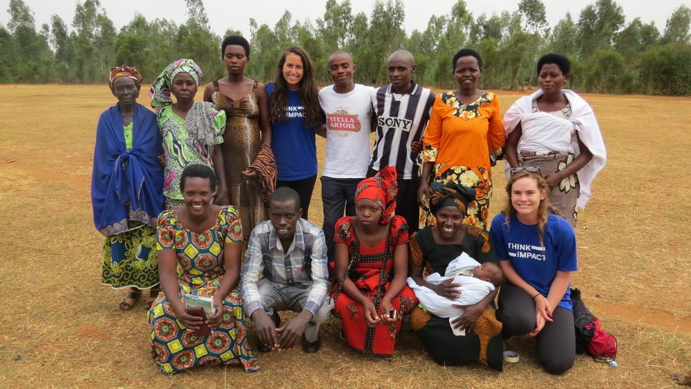 Oil maker design team in Nyarubuye, Rwanda