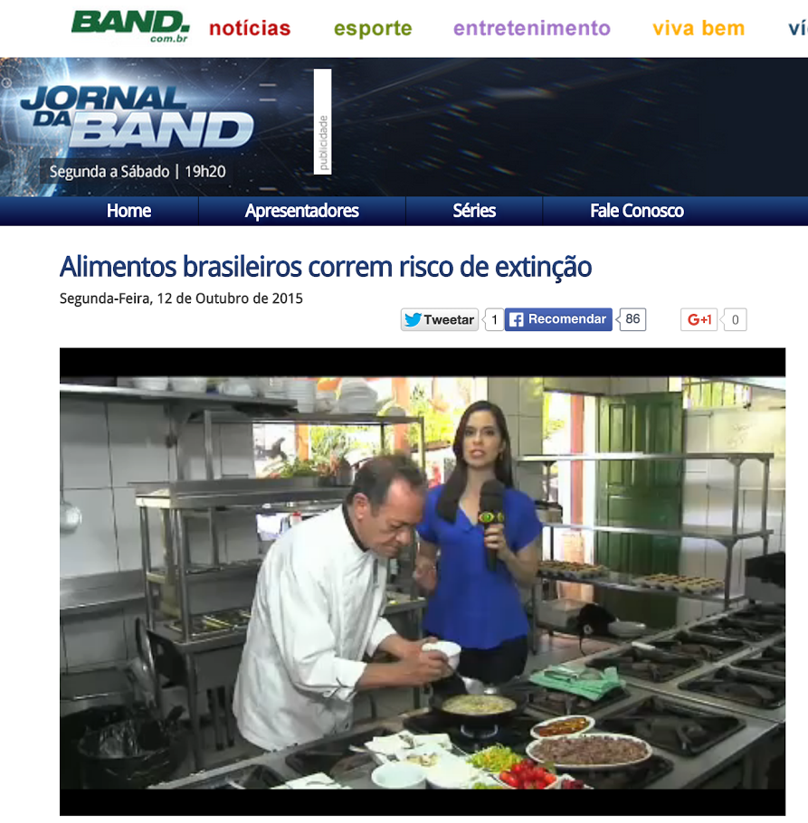 Jornal da Band - Slow Food