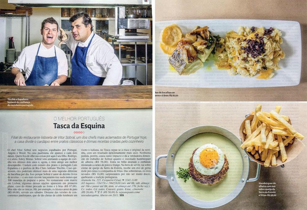 Prêmio Comer e Beber Veja Sp 2014 - Tasca da Esquina