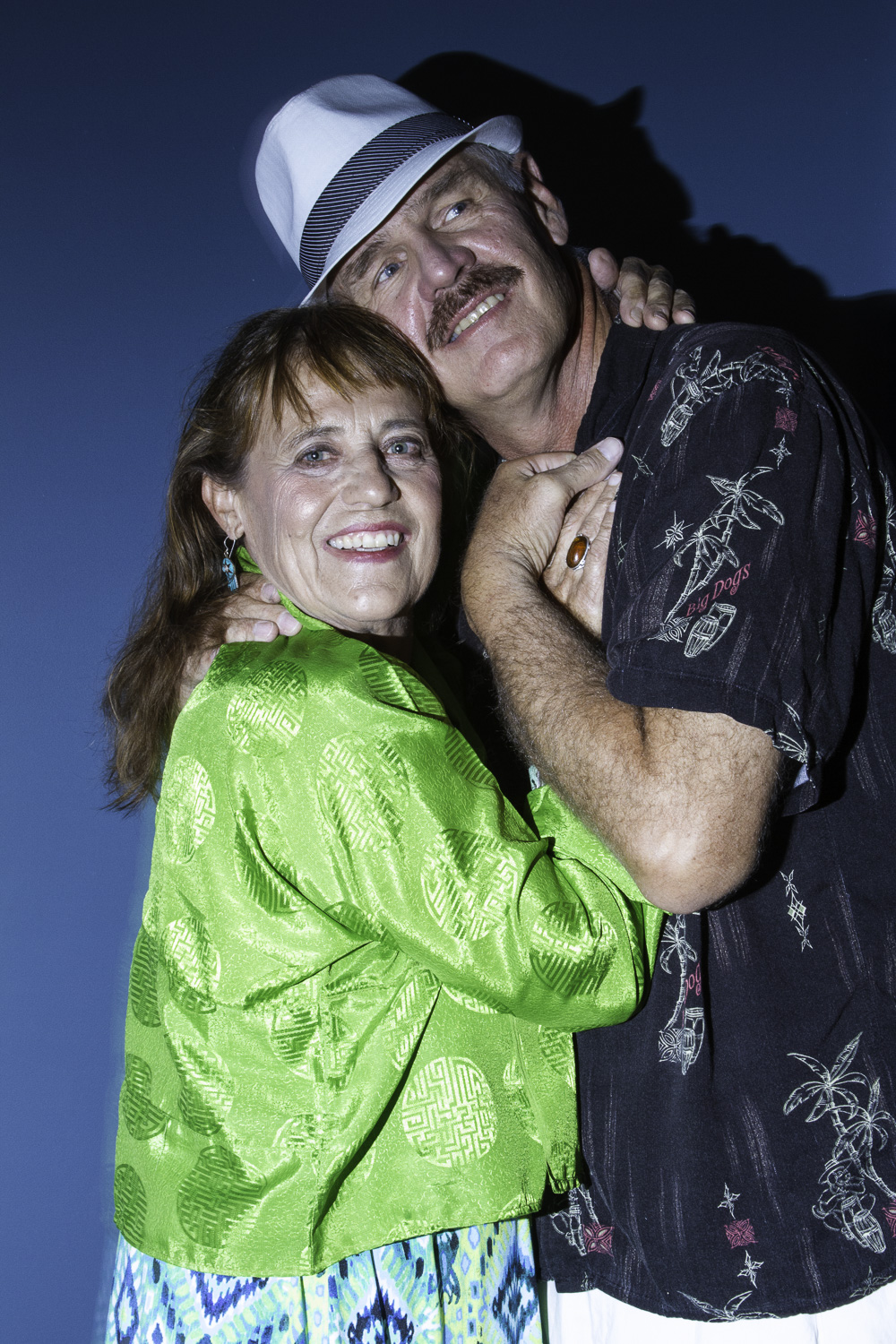 Matilde's Parents (Ruth Fahrbach and Lee Imboden) The two funniest people in Brazil