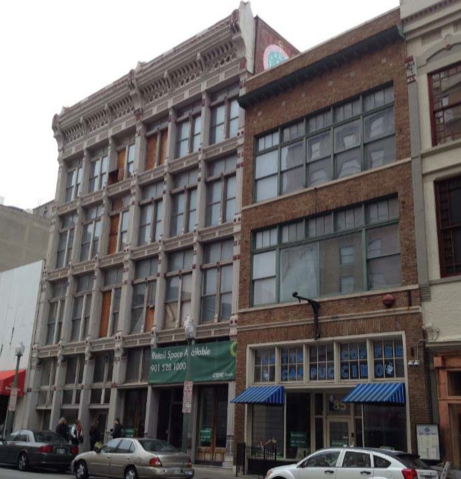 These buildings on South Second Street in Downtown Memphis will be renovated for apartments and restaurants.