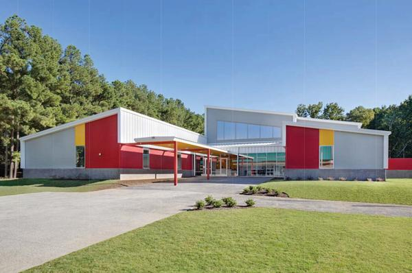 Memphis Business Academy Gym by Montgomery Martin Contractors of Memphis