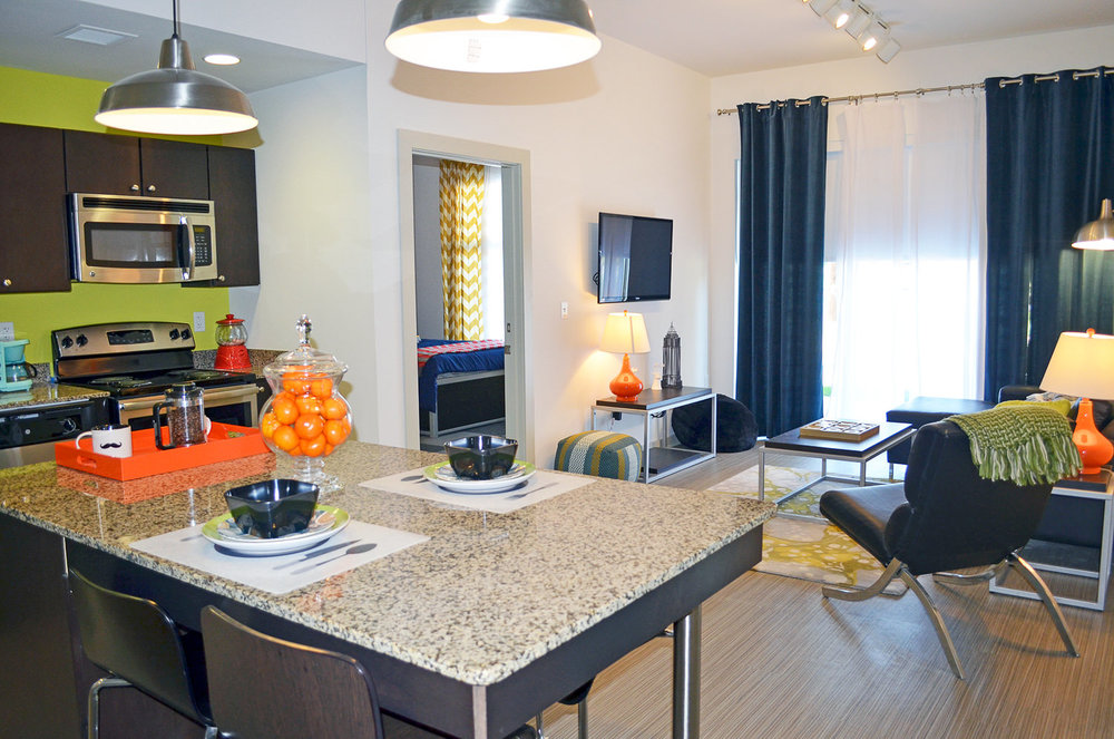 Gather on Southern | University of Memphis Multi-Family Student Housing Interior
