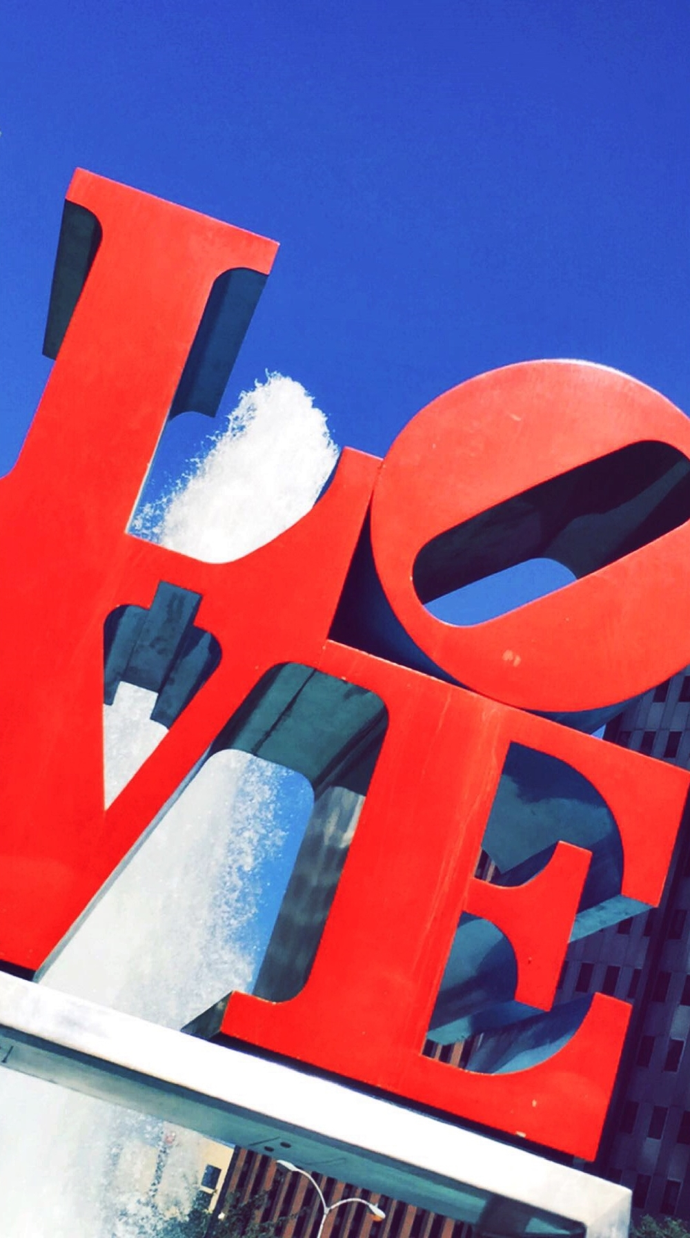 Love Park monument