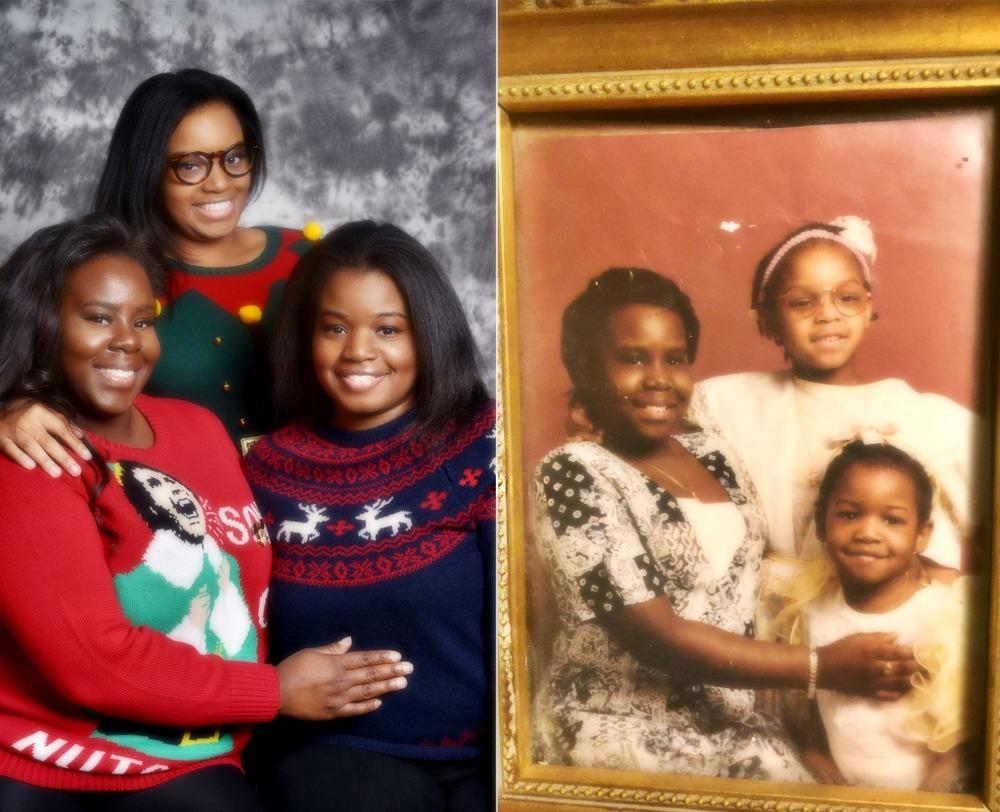 The Fenelon Sisters 2015 vs. 1995