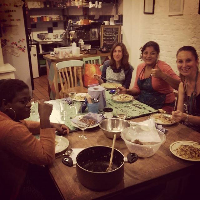 Great cooking class at Hornbeam tonight for WF Eats Community Calender #Autumntreats