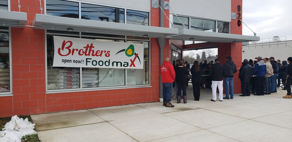 Outside of Brothers Food Max at 920 S Duke St