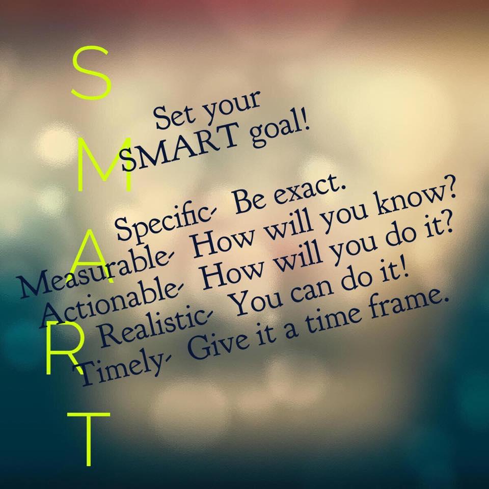 Setting Goals- Make them SMART   amandabrunngraeber.com