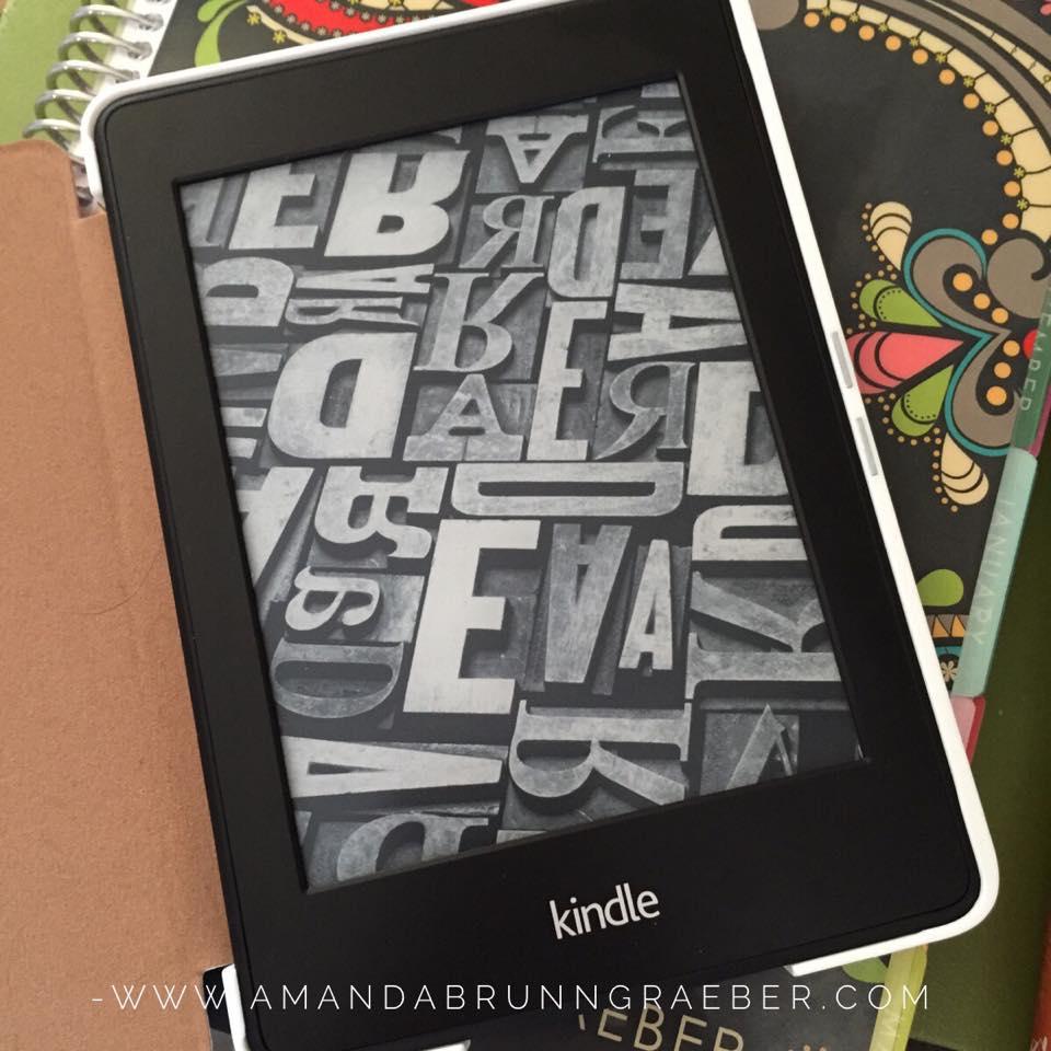 Kindle Paperwhite   www.amandabrunngraeber.com