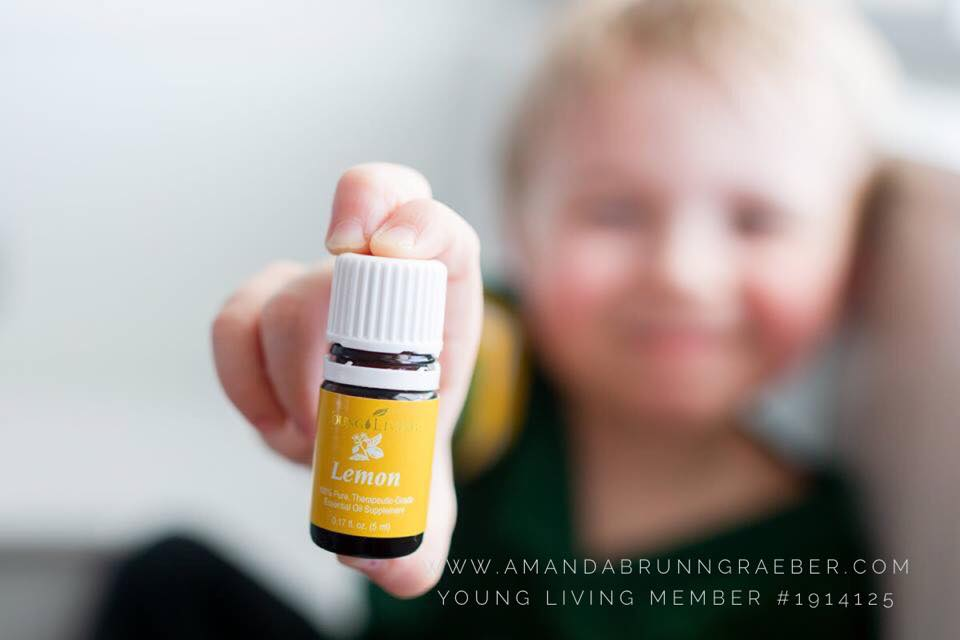 Young Living Lemon Essential Oil is the perfect wake up in your diffuser. Fresh and Clean