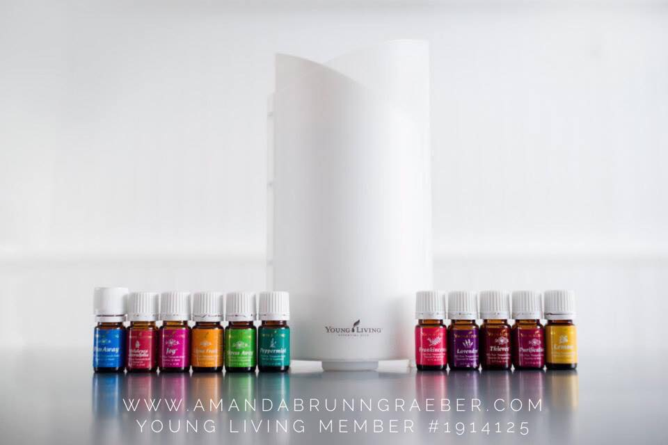 Young Living Essential Oil Premium Starter Kit Uses- a run through of a day in the life.