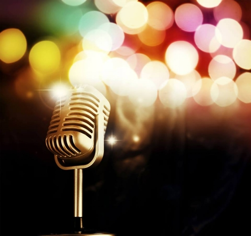 The mic is waiting for you. . .