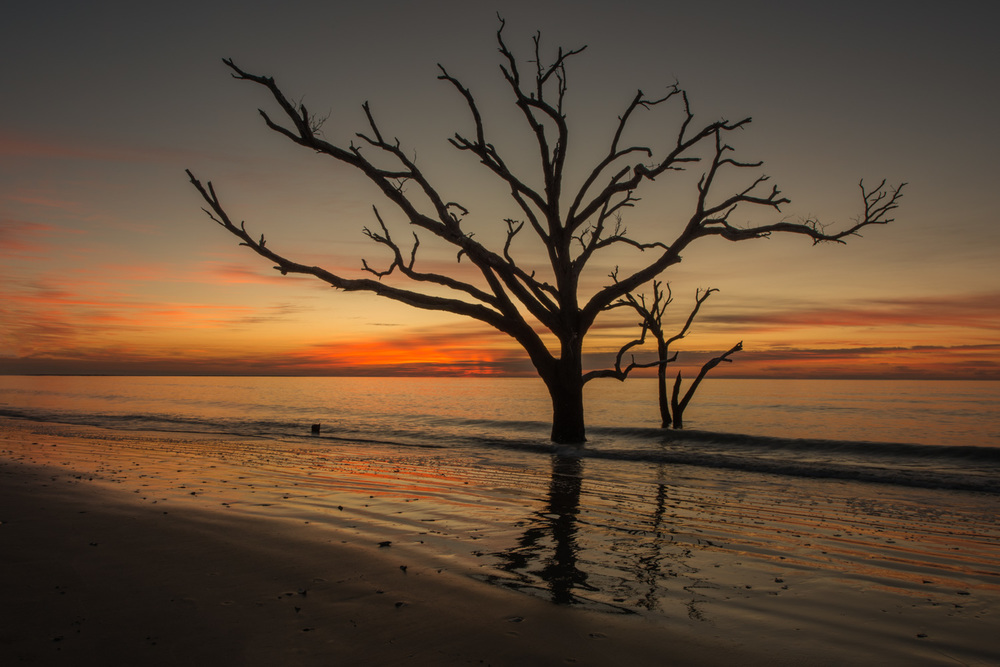 Botany Bay South Carolina Sunrise