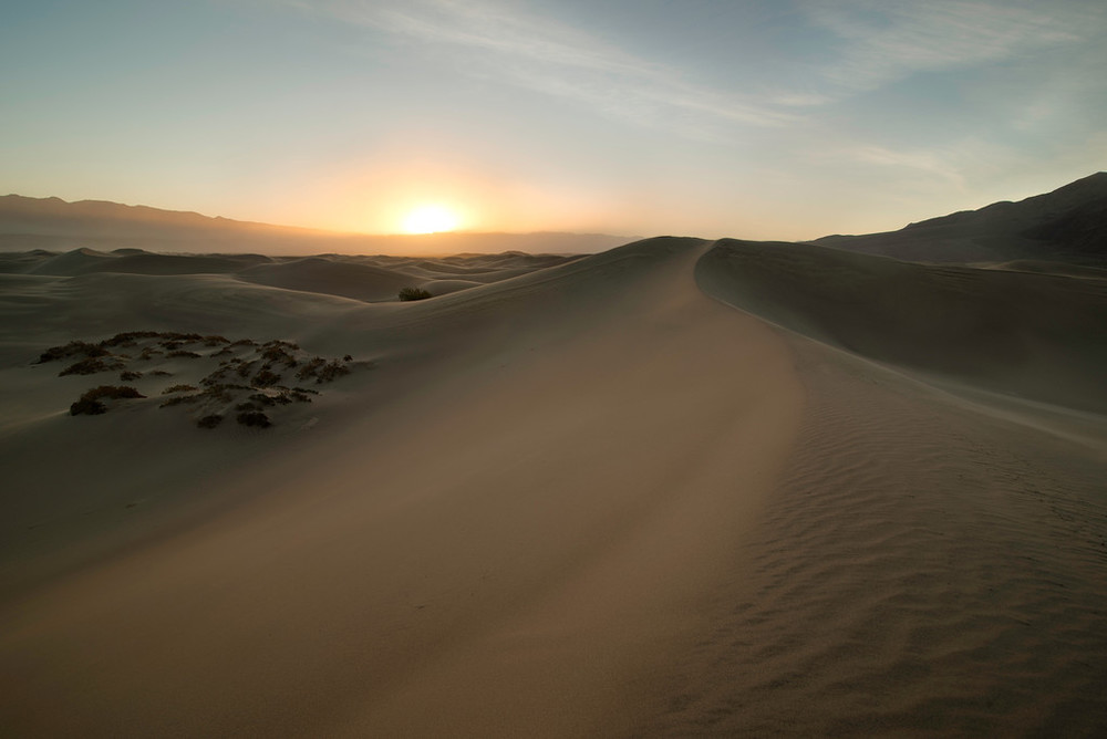 """Death Valley - Mesquite Dunes"""