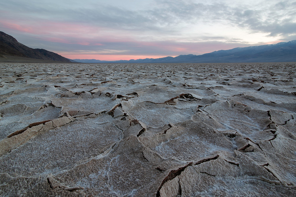 """Badwater Basin Death Valley"""