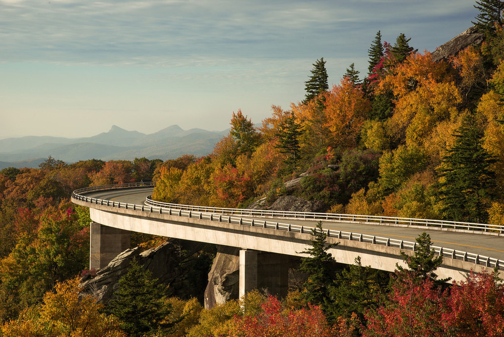 Lincove Viaduct - Grandfather Mountain NC