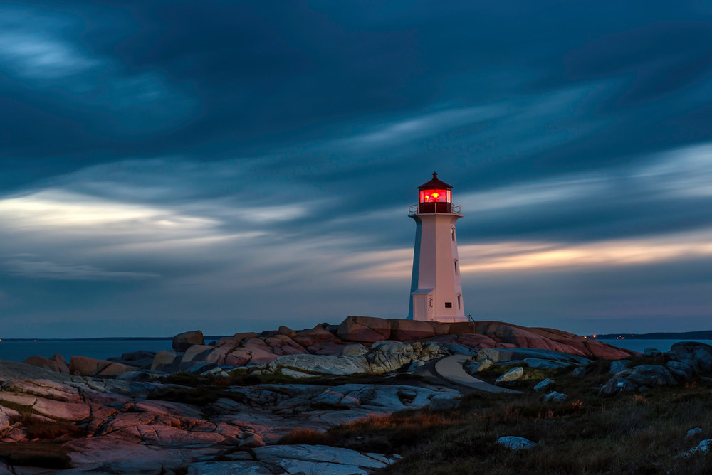 """Peggy's Point Lighthouse Nova Scotia"""