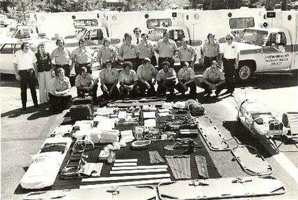 Original 16 Spartanburg EMS Employees