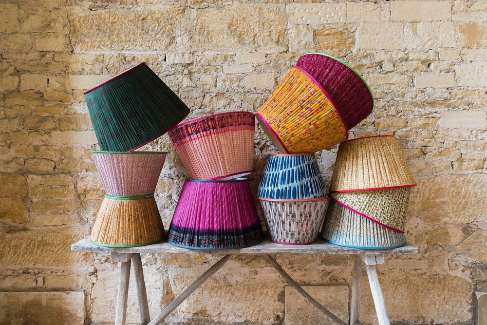 Penny Morrison's bespoke lamps