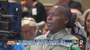 O.J. Brigance, former Baltimore Raven