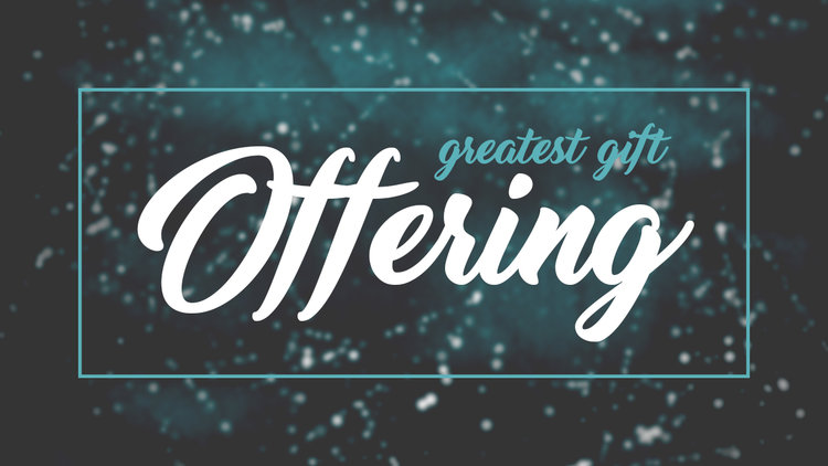 Greatest Gift Offering 2016 — Turning Point Church