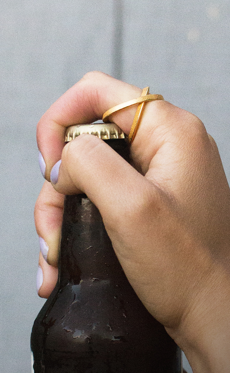 Bottle-Opening Ring