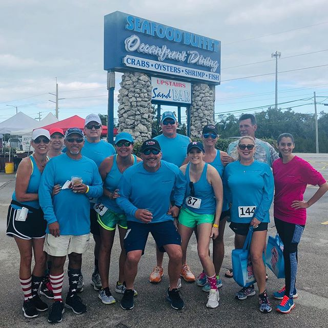 We were very excited to be a Blue Whale sponsor at this weekends Scale the Whale Bridge Run! Great job, Chi Sigma Sorority for organizing this fun event! #islamoradapools #scalethewhalebridgerun #whaleharbor