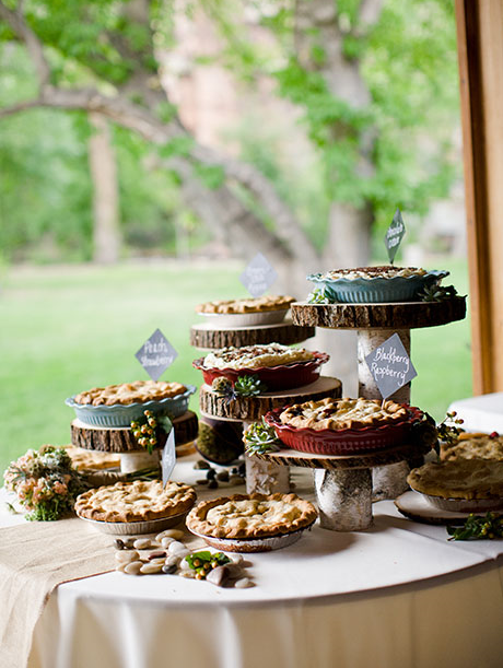 Thank you to our friends at Angie Wilson Photography for the great photo of Wedding Pies!