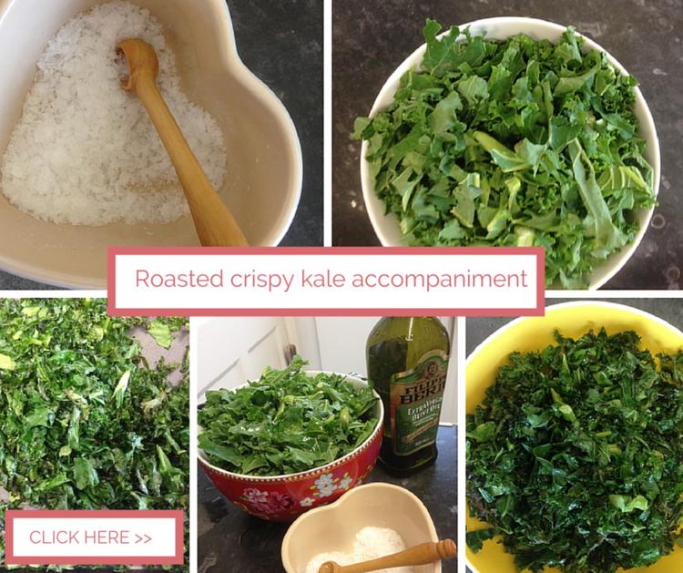 Roasted Curly Kale
