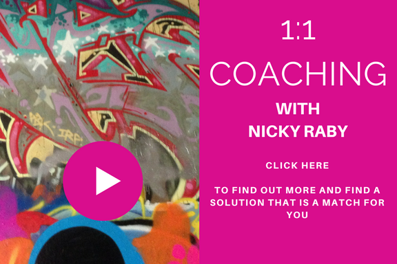 Nicky Raby coaching