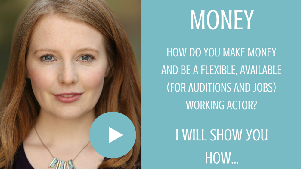 Making money as an actor