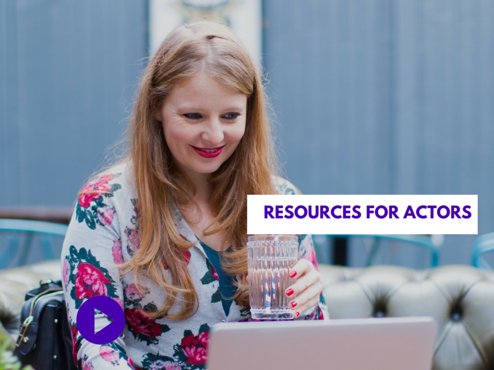 Resources for actors