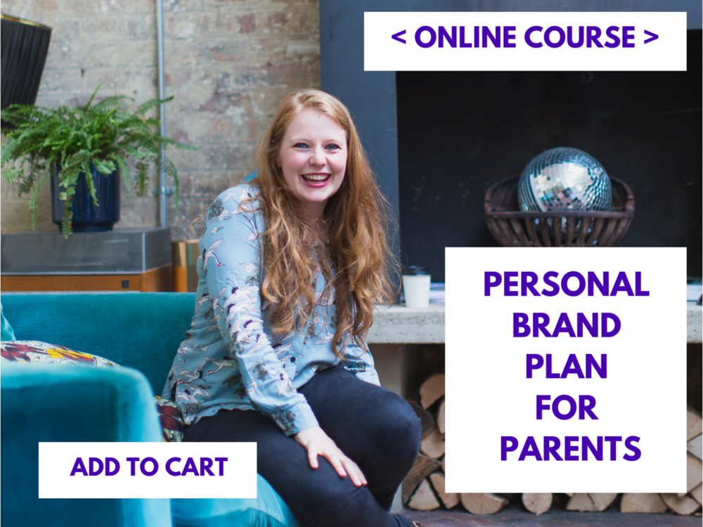 Personal Brand Plan for parents Nicky Raby