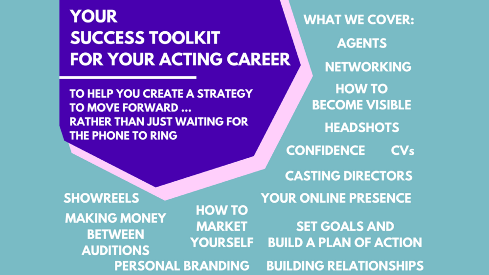 Nicky Raby Success toolkit for actors