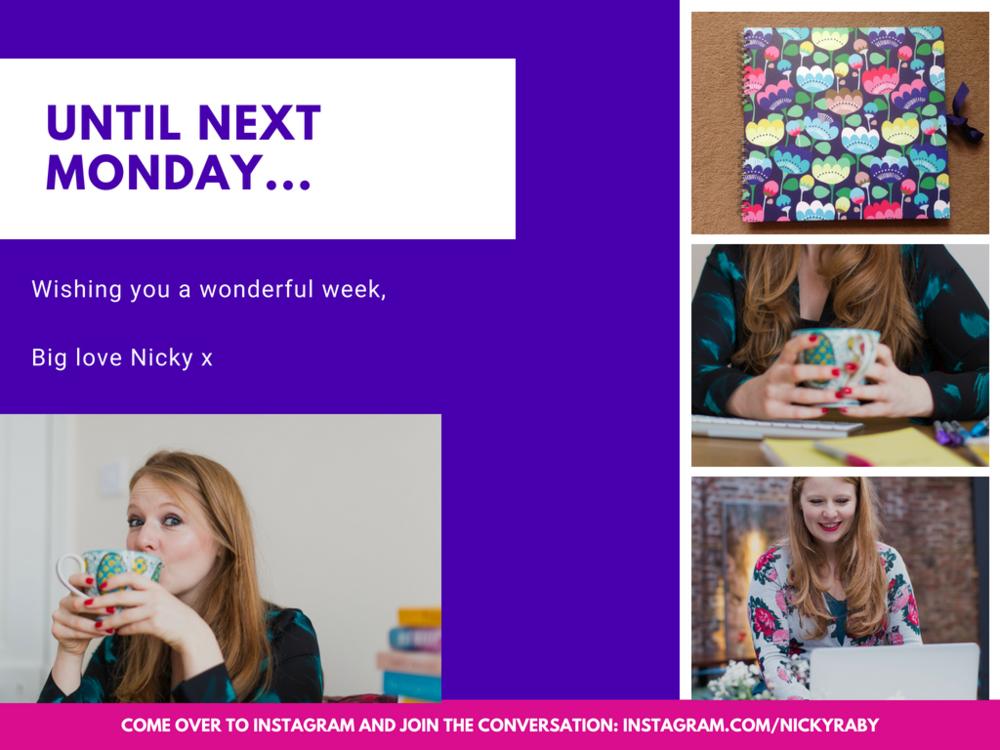 Until Next Monday Nicky Raby