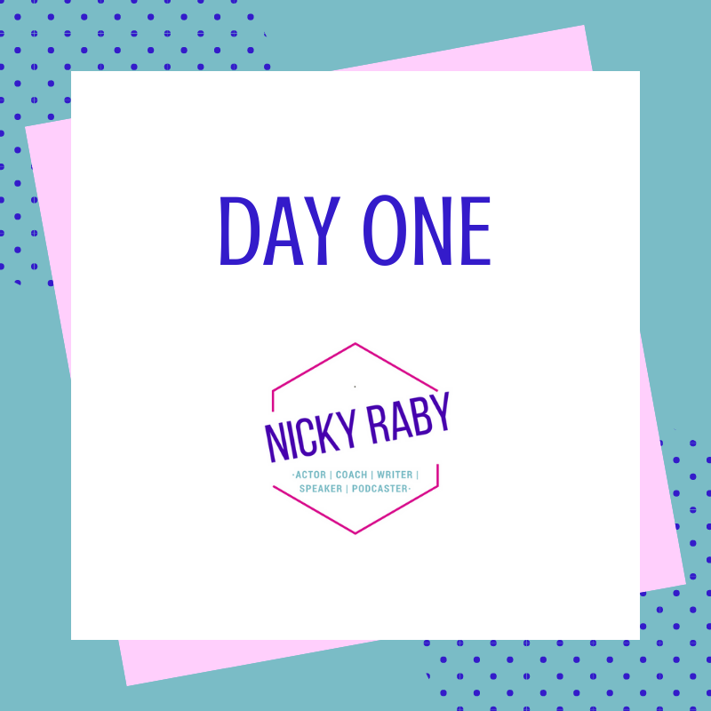 Day one Nicky Raby