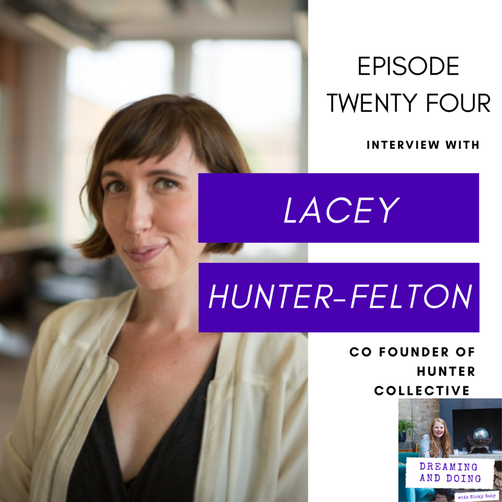 Episode Twenty Four: Lacey Hunter-Felton