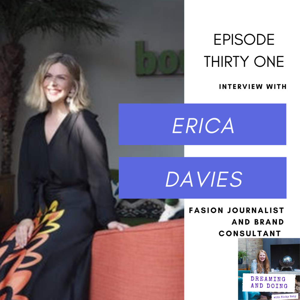 Episode Thirty One: Erica Davies