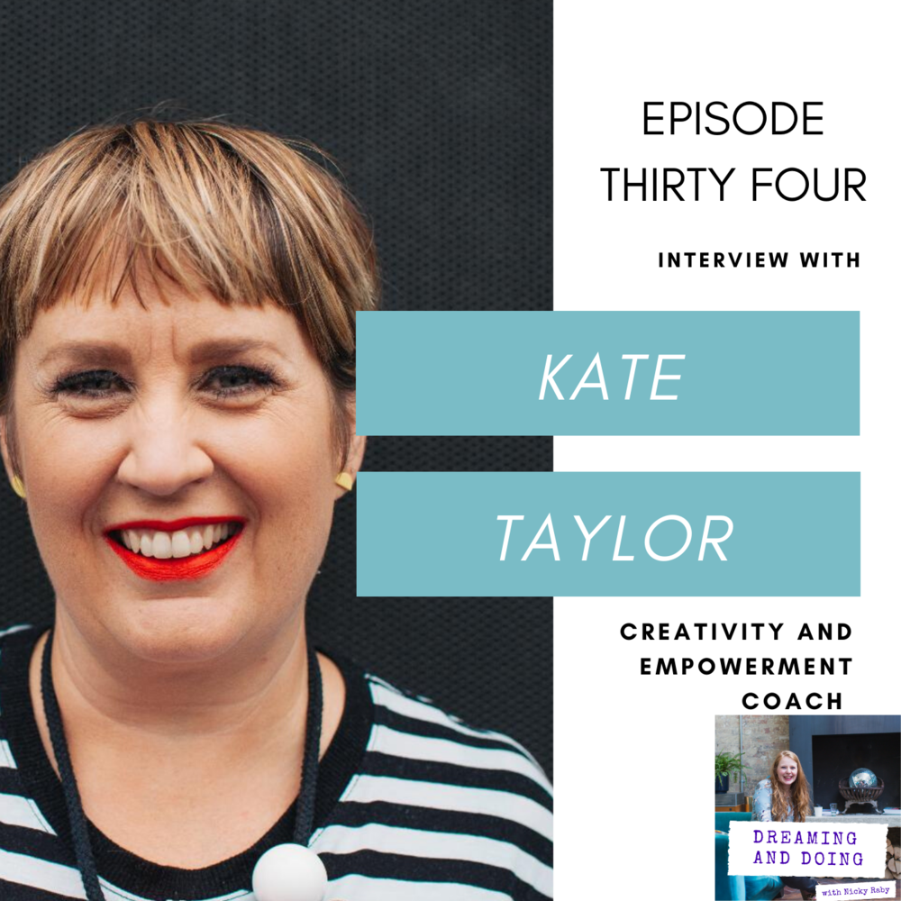 Episode Thirty Four: Kate Taylor