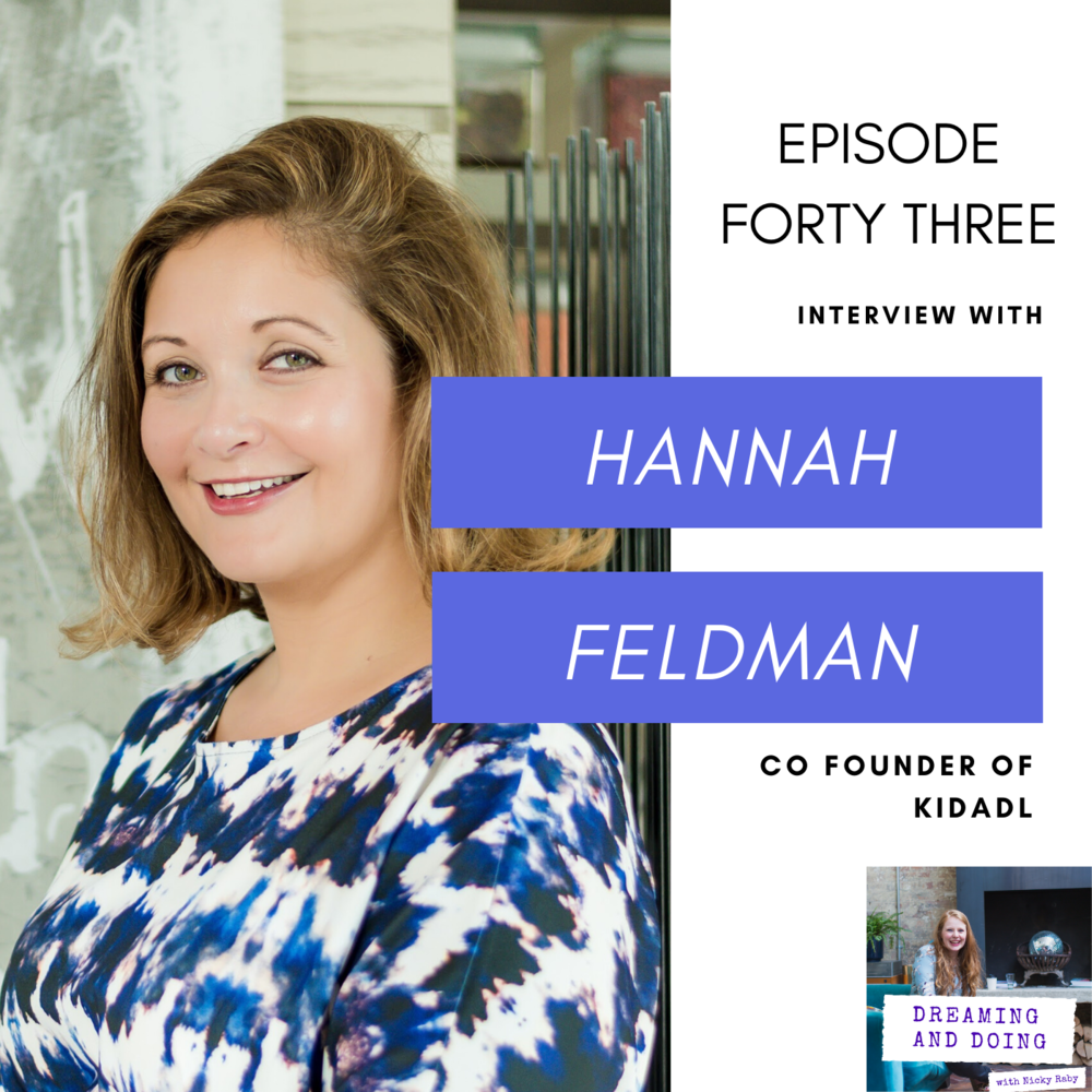 Episode Forty Three: Hannah Feldman