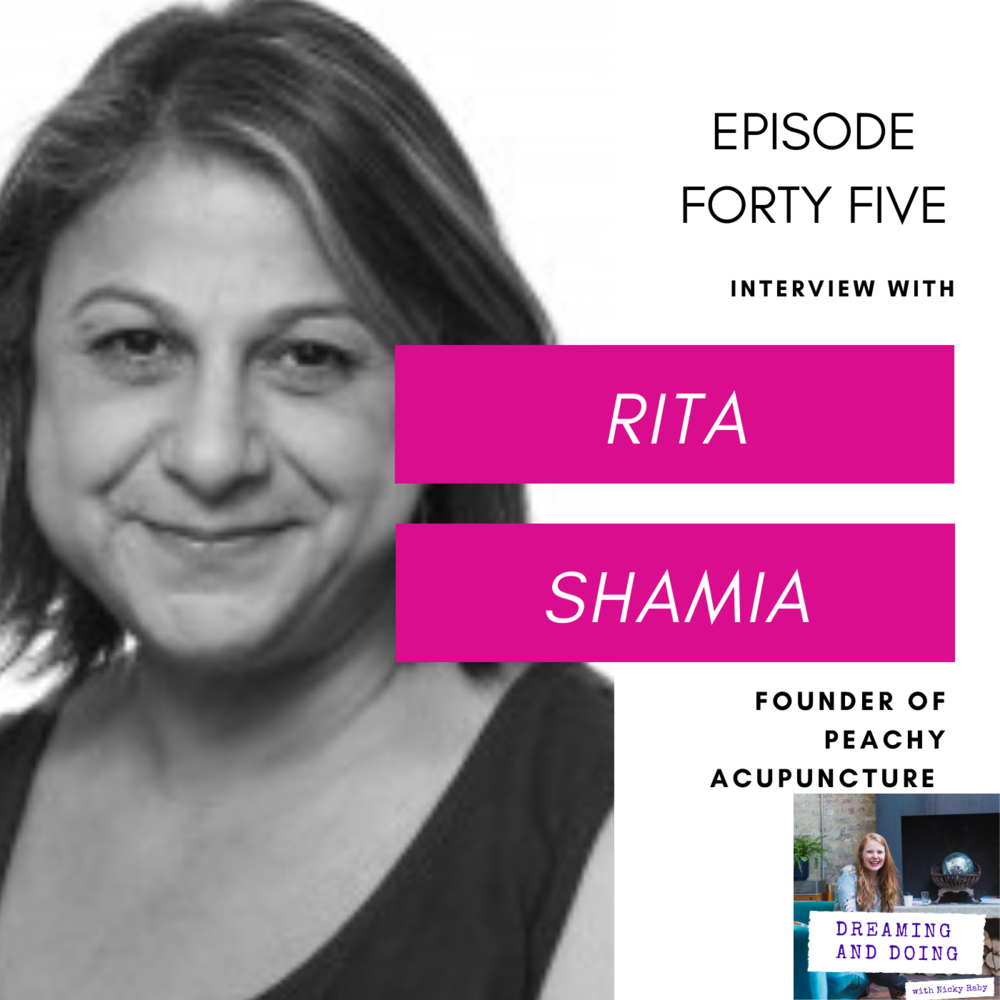 Episode Forty Five: Rita Shamia