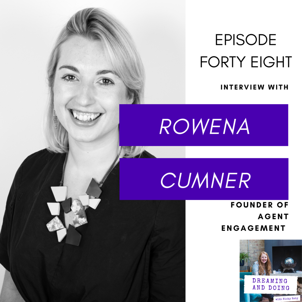 Episode Forty Eight: Rowena Cumner