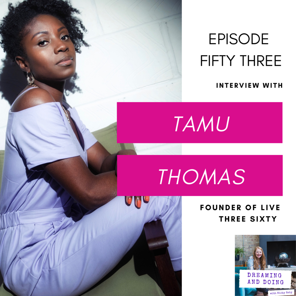 Episode Fifty Three: Tamu Thomas