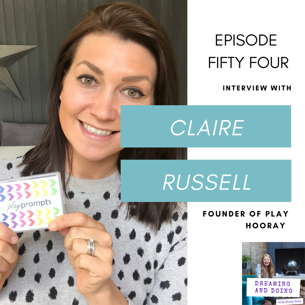 Episode Fifty Four: Claire Russell