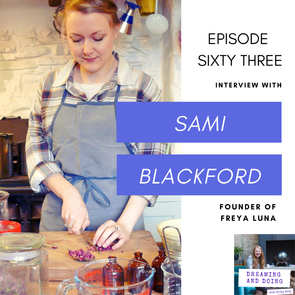 Episode Sixty Three: Sami Blackford