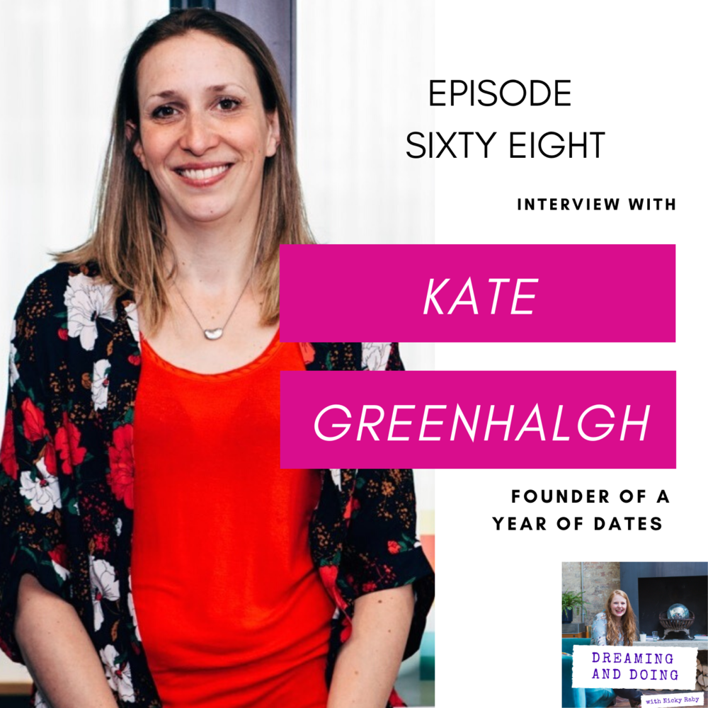 Episode Sixty Eight: Kate Greenhalgh