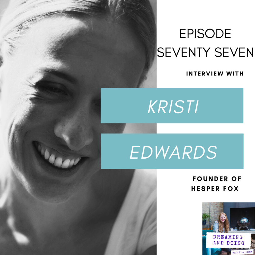 Episode Seventy Seven: Kristi Edwards